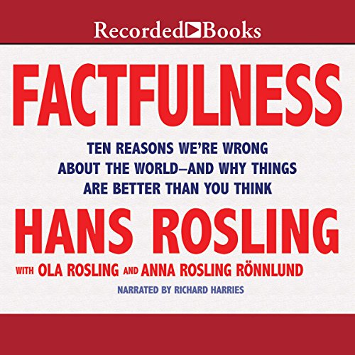 Factfulness: Ten Reasons We're Wrong About the World - and Why Things Are Better Than You Think cover
