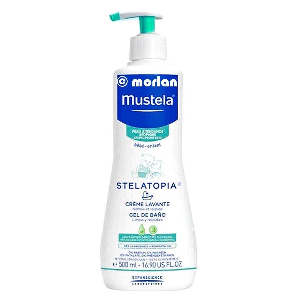 Mustela Stelatopia Cleansing Cream/Baã Gel ± 500 ml 3504105029029