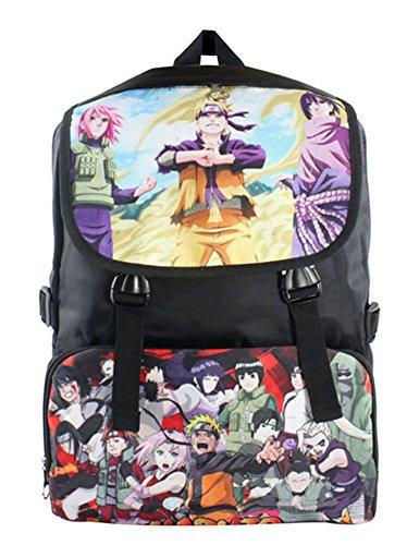 (Gumstyle Naruto Anime Cosplay Backpack Shoulder Bag Rucksack Schoolbag Knapsack for Boys and Girls)