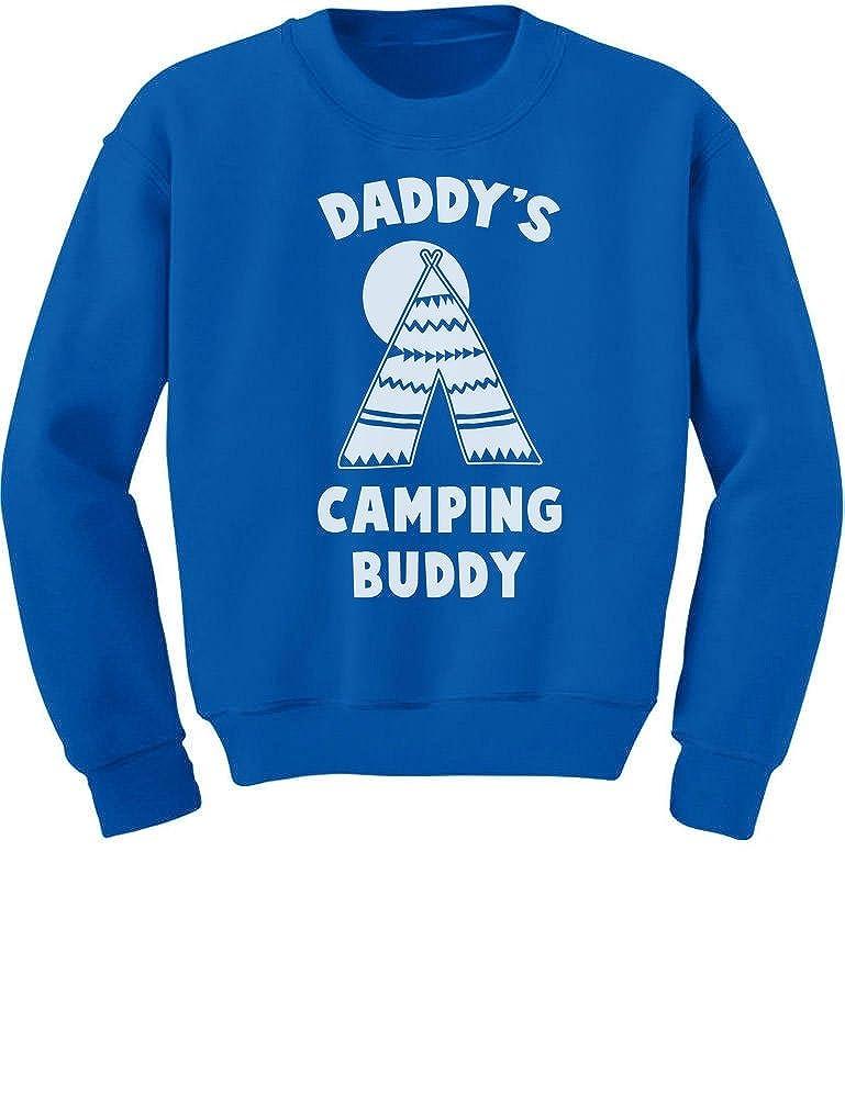 Daddys Camping Buddy Cool Youth Kids Sweatshirt TeeStars