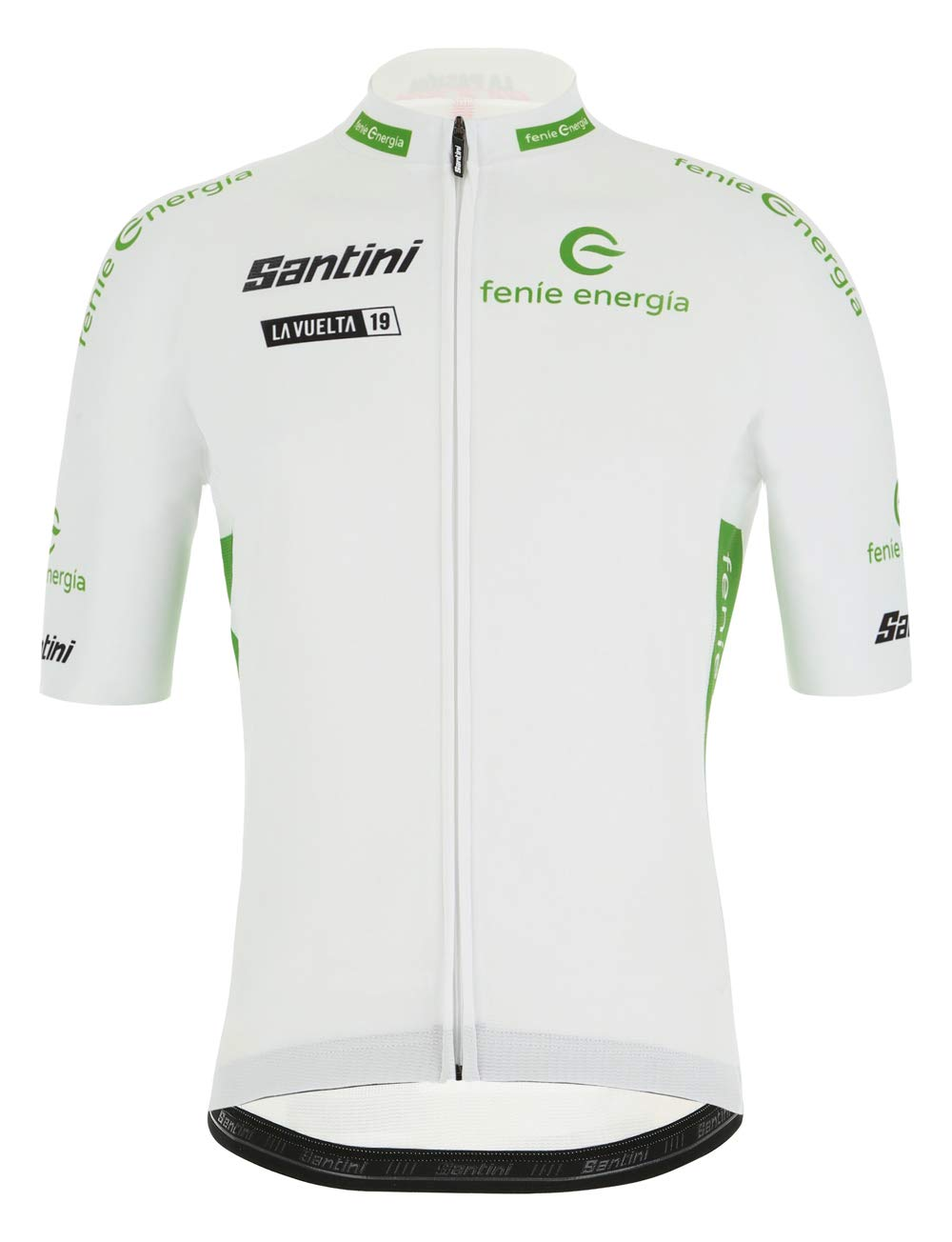 Santini - La Vuelta 2019 - Best Young Rider, Camiseta de Manga Corta para Hombre, Hombre, RE9427519LV, Bianco, XX-Large: Amazon.es: Deportes y aire libre