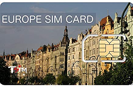TSIM Unlimited Europe SIM Card Call USA/CAN/Europe - 30 Days - Unlimited Data - 53 Countries - UK + Multiple Local Phone Numbers (Upto 12GB & 360min) by TSIM