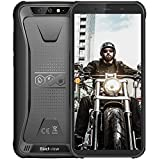 Rugged Cell Phones Unlocked, Blackview BV5500 IP68 Waterproof Unlocked Smartphone, 2GB+16GB 3G Android 8.1 Dual SIM 5.5 inches 4400mAh Battery Quad Core[MIL-STD 810G] Blackview Rugged Phone, Black