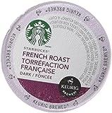 Starbucks Dark Roast Coffee Keurig K-Cups, French Roast, 96 Count