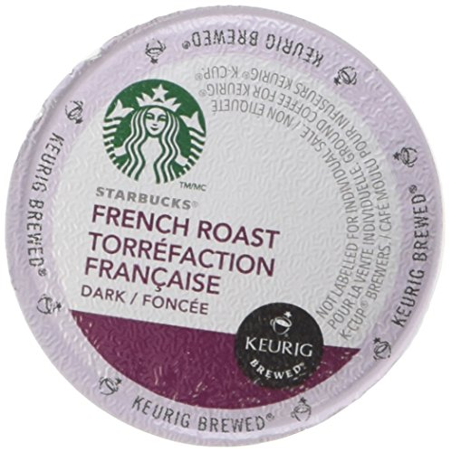Starbucks Coffee Keurig K-Cups, French Roast Dark, 96 Count