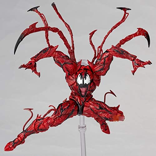 - KPST Red Venom Action Figure Carnage in Movie The Amazing Spiderman BJD Joints Movable Action Figure Model Toys