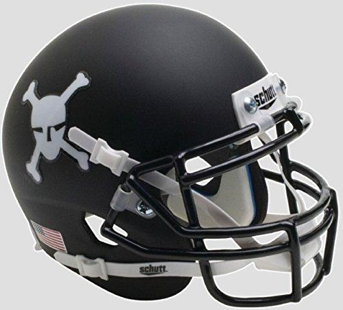 Army Black Knights Alternate Skull & Crossbones Schutt Full Size Replica XP (Army Mini Helmet)