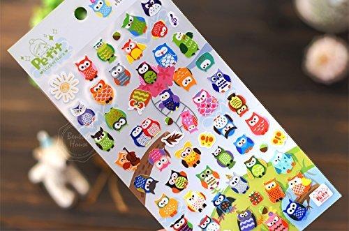 Cartoon Thematic Brochure Sticker Sticker Cute product image