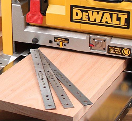 Carbide Tipped Knives For DeWalt 734 Planer, 3-Pc.