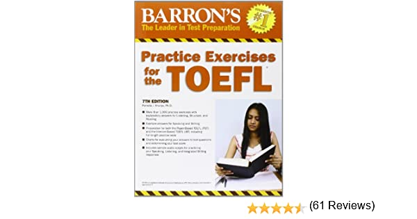 Practice Exercises for the TOEFL (Barron's Practice Exercises for ...