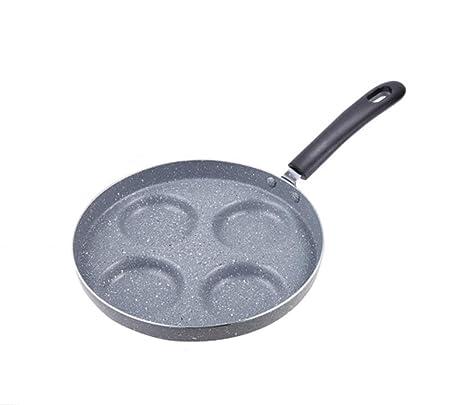 KGHONY - Sartén de cuatro agujeros para tortilla pan para ...