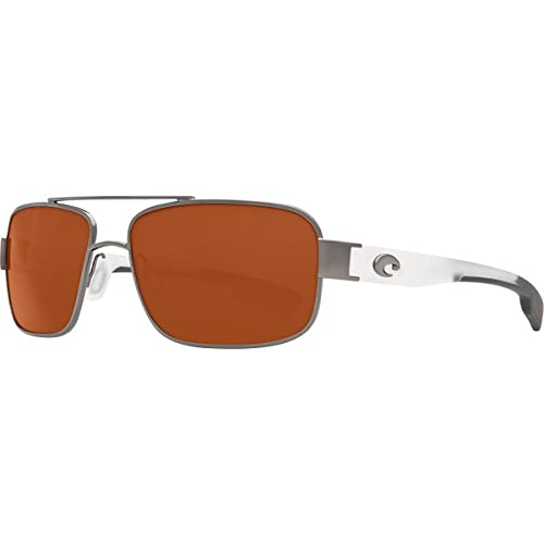 6211cf03460 Image Unavailable. Image not available for. Color  Costa Del Mar Tower Sunglasses  Gunmetal w  Crystal Copper 580Glass