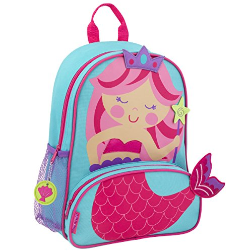 Stephen Joseph Girls' Little Sidekicks Backpack, Mermaid