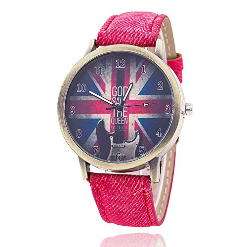 79df5928d Buy New Designer Analog Red Jeans Belt Watch Online at Low Prices in ...