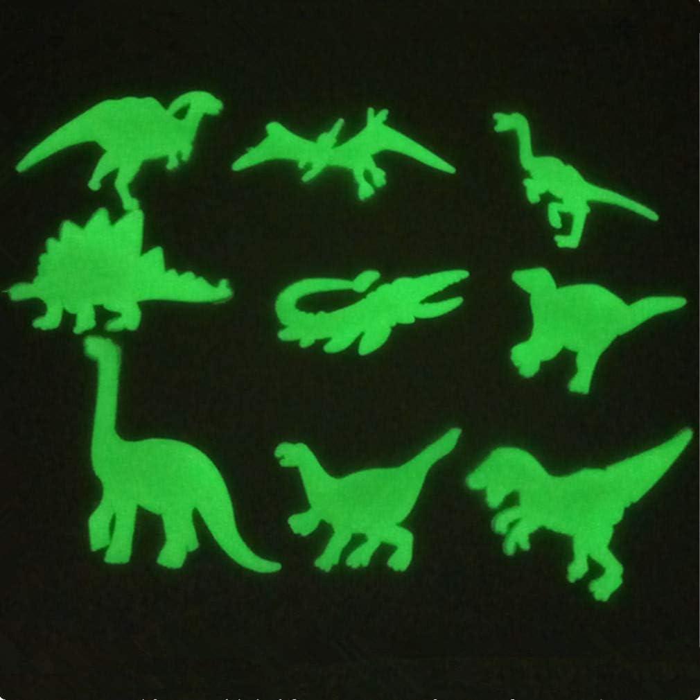 Ruiting 100 Pcs /Étoiles Lueur Autocollants DIY Lueur dans Le Fonc/é Fluorescent Sticker Mural Lumineux Stickers Muraux D/écor /À La Maison pour Chambre Couloir