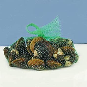 Package of 1000 Royal Clear Plastic Mesh Produce and Seafood Bag 24 Inch