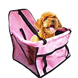 Guardians Portable Pet Booster Seat Car Dog Carrier Mesh Sided Travel Cars Bag for Pets Backseat Accessories Review