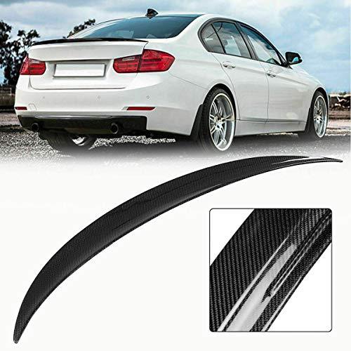 for2012-2018 3-Series F30 4-Dr Sedan Rear Trunk Matte Black ABS Spoiler Wing ()