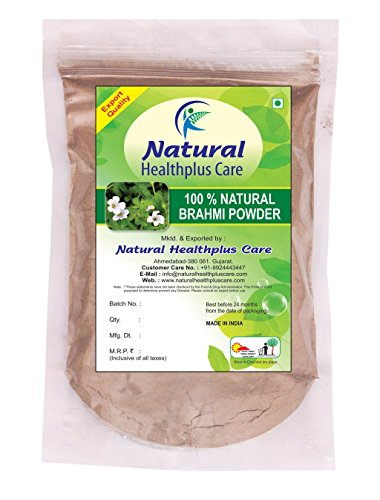 100-Natural-Brahmi-Leaves-BACOPA-MONNIERI-Powder-for-COMPLETE-HAIR-CARE-NATURALLY-by-Natural-Healthplus-Care-12-lb-8-ounces-227-g