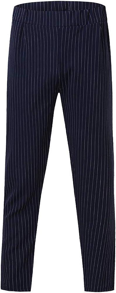 Pantaloni da Lavoro Uomo Pantaloni Cargo Casual Pantaloni Militari con Tasche Laterali Pantalone Uomini Lunghi Casual con Coulisse Tasche Laterali Trousers della di Sport Pants Moda Elastici