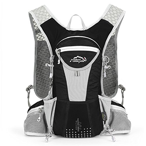 SKYTREE Hydration Backpack, Waterproof Race Hydration Vest for Outdoor Trail, Marathoner, Running, Lightweight & Versatile. Water Bladder is not included.