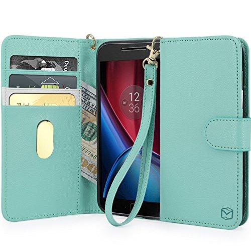 MP MALL Leather Wallet Motorola Generation