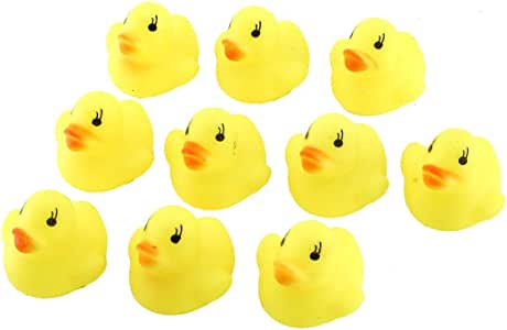 Kawaii Cute Cartoon Duck Baby Squeaky Rubber Ducks Bath Water Swimming Toys Children Kids Bathing Toys