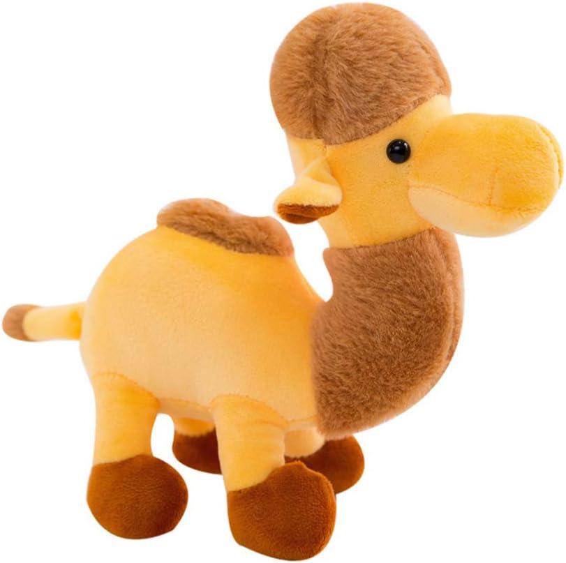 Toyvian Juguete de Peluche de Camello Animal de Peluche para Niños Adultos Regalo Muñeca Hogar Decoración del Coche (Marrón)