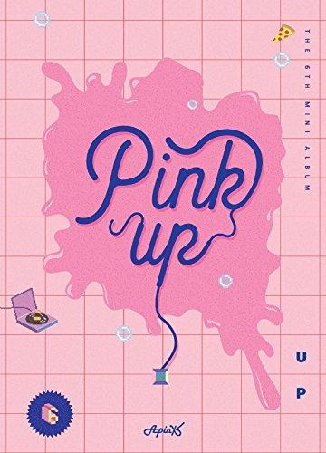 Price comparison product image Apink Mini Album Vol. 6 - Pink Up (A Ver.)[+official folded poster][+transparent plastic photocard 2pcs][+postcard][+sticker]