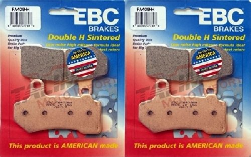 EBC Sintered Double H Front Brake Pads (2 Sets) 2009-2014 for sale  Delivered anywhere in USA