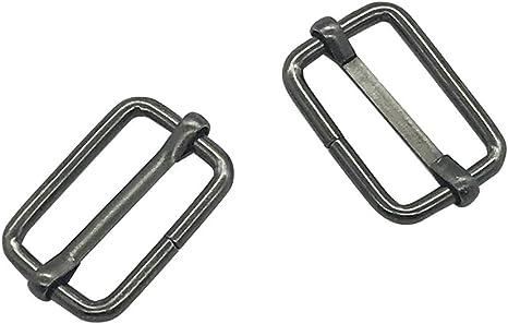 3 Bar Triglide Fastening Slide Buckles for 25mm Webbing Straps Pack of 2