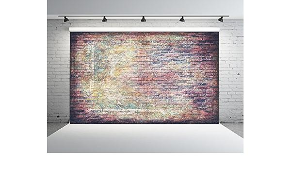 7x5ft Vinyl Photography Backdrops Marble Ink Paper Texture Black Grey Gold Brick Wall Background Children Adults Portrait Photo Booth Studio Prop for Festivals Parties Activities Scenarios