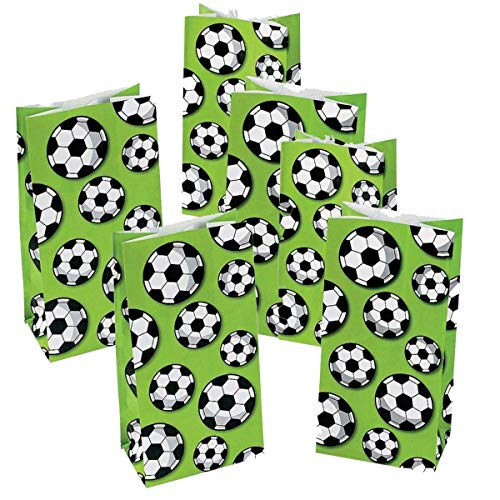 Soccer Party Bags (Fun Express Soccer Treat Bags - 24)