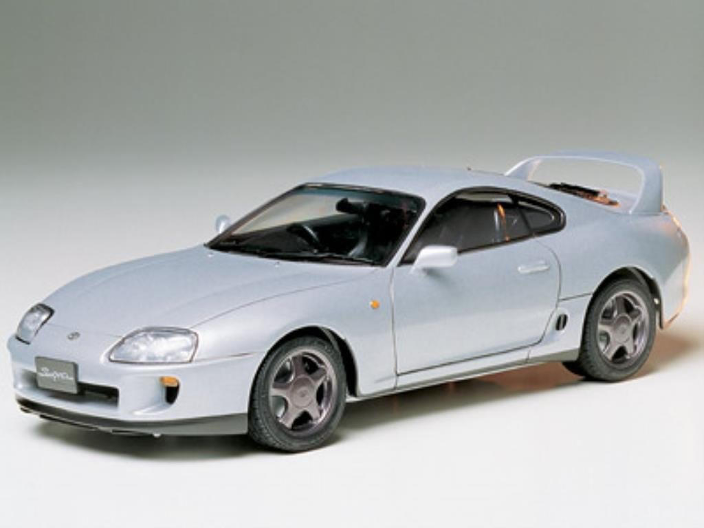 TAMIYA 24123 1/24 Scale Sports Car Series Toyota Supra Model Kit (300024123)
