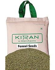 Kiran's Fennel Seeds, Eco-Friendly Pack, 10 lb (4.54 KG)