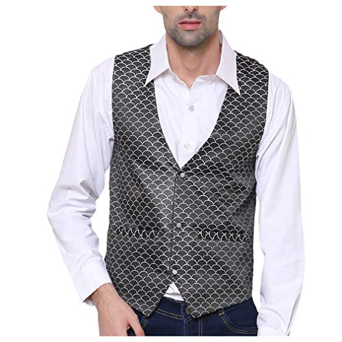 51j3 %2BJtHWL. SS500  - SORELLA'Z Men's Waistcoat (Multicolour, Free Size)