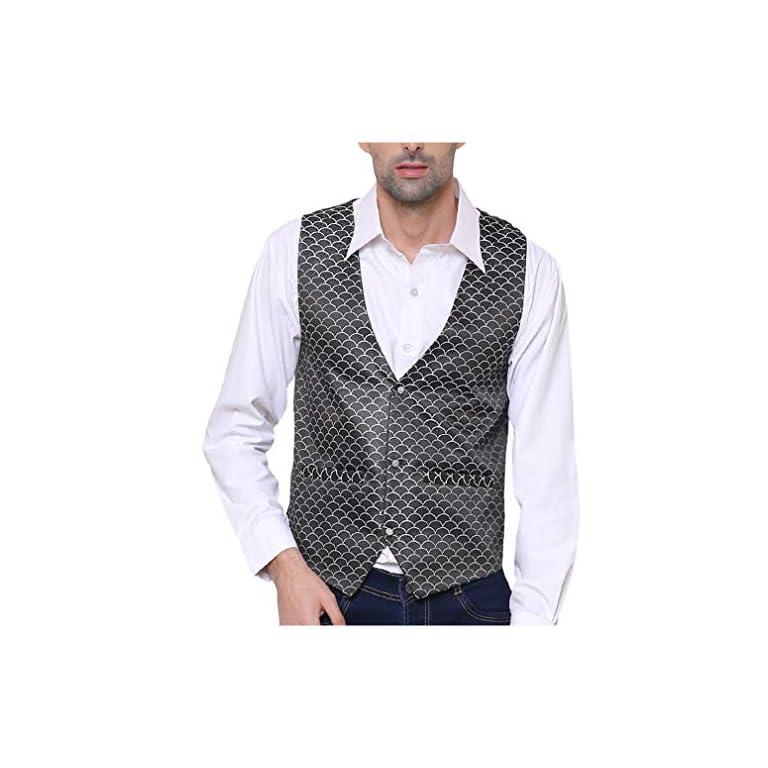51j3 %2BJtHWL. SS768  - SORELLA'Z Men's Waistcoat (Multicolour, Free Size)
