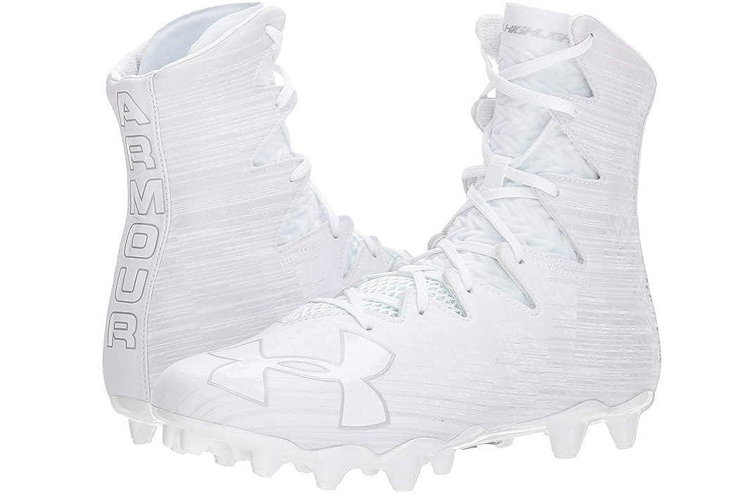 Under Armour UA Highlight MC 1297358-100 Men/'s White Lacrosse Cleats 11 US