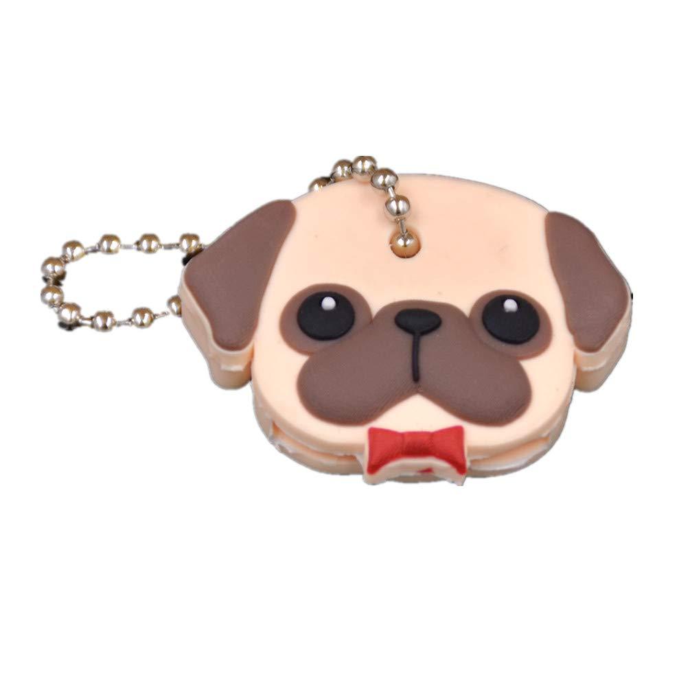 Kesheng Cartoon Dog Key Caps Identifier Covers Set of 4pcs