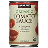 Kirkland Signature Organic Tomato Sauce: 12 Cans of 15-Ounce, 12-Count