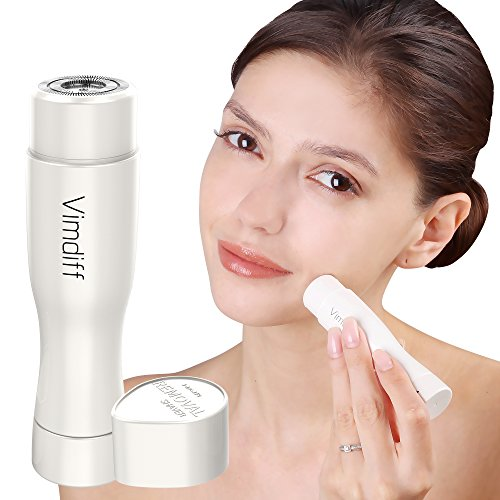 2018 Professional Hair Removal for Women, Electric Painless Flawless Hair Remover Trimmer for Face, Facial, Armpit, Upper Lip, Chin, Bikini Line Area, Arm, Leg and Full Body, Waterproof with LED Light