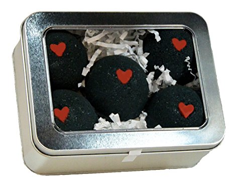 Black Bath Hearts scented Little