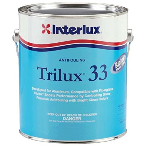 Interlux YBA063/QT Antifouling Paint (Black, Quart), 32. Fluid_Ounces