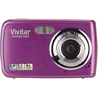 Vivitar ViviCam V7024 7.1 MP Digital Camera with 2.4-Inch LCD V7024-GRAPE