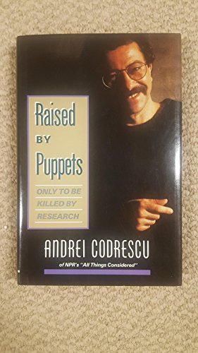 book cover of Raised By Puppets