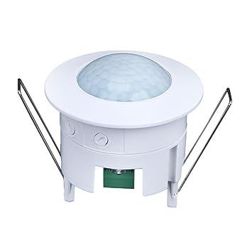 perg Transferencia 360 grados Instalación PIR Asignación De Techo Detector de movimiento detector Interruptor Luz AC
