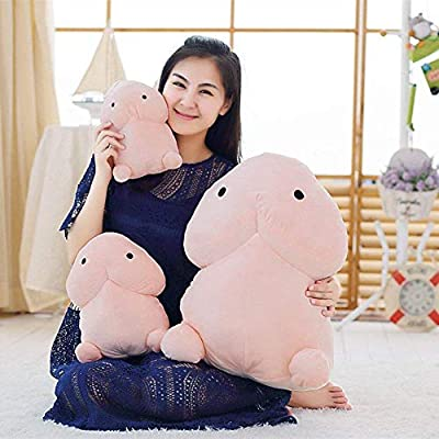 Cute Plush Toy Stuffed Cartoon Funny Pillow Toy Soft Throw Pillow Funny Arm Support Armchair Seat Cushion for Prank Novelty Gag Gift (S): Kitchen & Dining