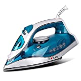 AHXN 2600w Steam Iron, LASJ 210/Min Steam Injection and 40 G/Min Continuous Steam, ECO Energy Saving and Self-Cleaning Anti-Scaling System