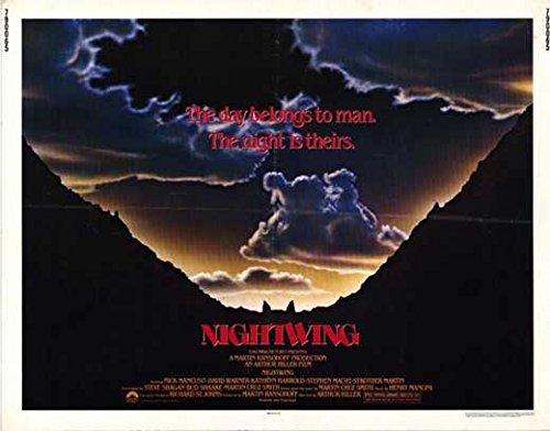 Nightwing Advertisement Movie (1979) Style A 11 x 14 Inches - 28cm x 36cm (Nick Mancuso)(David Warner)(Kathryn Harrold)(Strother Martin)(Stephen Macht)(Pat Corley)(Charles Hallahan)