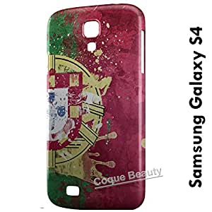 Carcasa Funda Galaxy S4 Portugal Protectora Case Cover